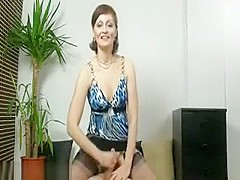 So Pretty Brunette Milf Wife Make A Hot Handjob After Go To Church,!Holy Fuck!