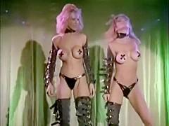 "Vintage ""Blondage"" performance featuring Julia Ann & Janine Lindemulder"