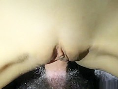 Homemade video of a missionary position and cum on belly