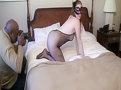 Lady R White Pantyhose Footjob And Worship From Toes And