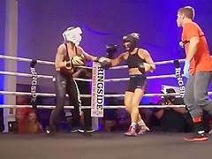 Whitney Miller vs River Fuller Miss USA boxing