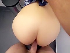 Pretty Babe Rayna Rose Gets Fucked In The Public Toilet