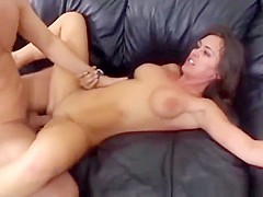 MILF loves a hard fuck and the taste of cum