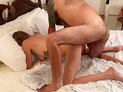 A little of everything Hand job, Missionary, Doggystyle, Cowgirl & Milf 4K