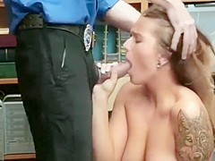 Groped & Fucked by the Mall Cop