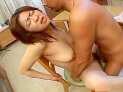 Busty Mami Kyomoto fucked hard