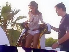 Elisabetta Canalis - Backstage calendario Max