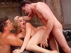 Mia Malkova takes it in every hole threesome