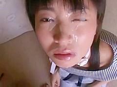 Asian Bukkake #2