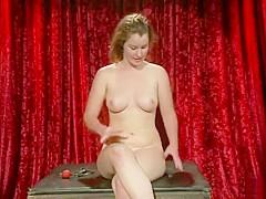 Whipped Ass Lesbian Virgin Sophia Lauryn