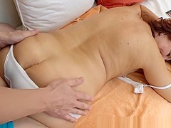 Hairy Granny Slammed Hard And Jizzed In Mouth