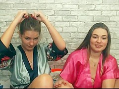 Euro girls lick pussy first time