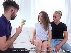 Sell Your GF - Mickey Moor - Fuck for cash as birthday gift