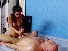 Katrina Jade Oil Massage Fucking