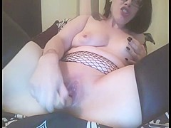 Daddy ramming my ass and sucking a toy(double show)