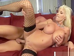 Super Stepmom Puma Swede Gives Titjob Well Tender Stepson
