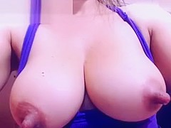 Huge Nipples On This Blonde Webcam Girl