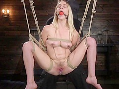 Blonde Born To Serve Master Gets Tornmented