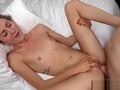 BANG Real Teens:First Timer Renee Roulettes Hot & Raw Pussy