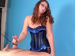 Spex Milf Edging Client During Massage