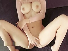 Horny girl in the pink top takes dick in her tight pussy - Diana and Daniel
