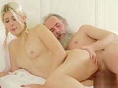 Pretty College Girl Was Seduced And Pounded By Her Older Tut