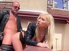 Surprised Honey In Undies Is Geeting Pissed On And Poked