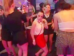 Peculiar Teens Get Totally Crazy And Stripped At Hardcore Pa