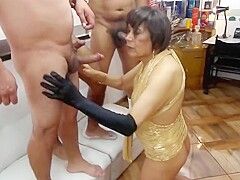 celebrating HALLOWEEN with extreme anal sex with three lover