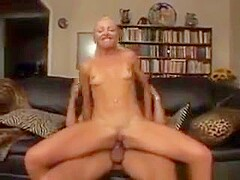 Tanned Blonde Chick And A Big Cock