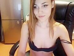 Filthy Busty Solo Masturbation Fun Part 05