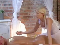 Tanned Guy Gets Massage And Fuck