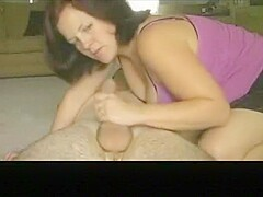 Pretty Redhair Milf Girlfriend Make A Kinky Sex Game With His Dude,!Holy Fuck!