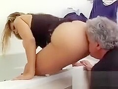 Busty Blonde Teenager Goes Naked For A Hot Piss Show