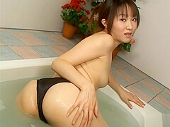 Amazing Asian model is a hot chick