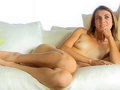 Thena nude on the couch - FTVGirls
