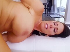 Mom and crony's daughter get ass fucked Hot MILF For His Birthday