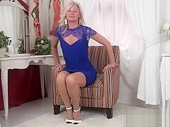 Perfect Step Mommy Ellen B Ride cock Hot Young Dad's Friend