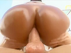 busty blonde anal casting