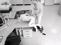 Security Cam Office Sex