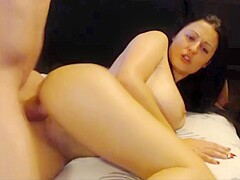 Amateur Teen Couple on Webcam Fucking With Huge Facial Cumshot