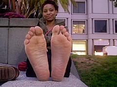 Porn stinky feet Woman with
