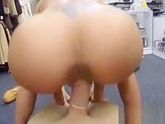 Latina babe flexes her muscles and gets fucked like a slut