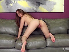 All Natural Babe Nickey Huntsman Loves To Get Fucked Hard