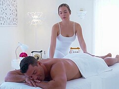 Gorgeous Masseuse Rides