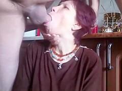 Russian Granny Rough Throat