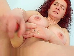 Astonishing sex clip Red Head fantastic show
