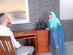 Beauty Hijab Lovita Fate Fucked with Lawyer