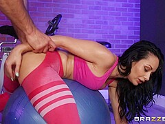 Crystal Rush & JMac in Sexercise - BRAZZERS