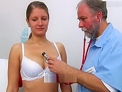 Jennifer Aniton gyno exam and ecg part 1